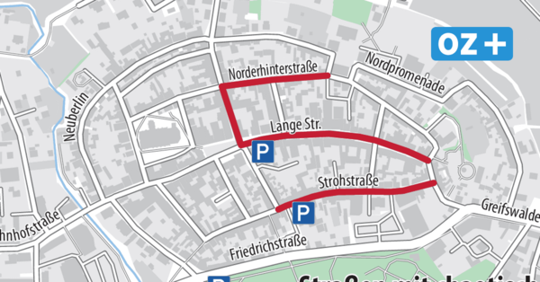 Vorschlag für Grimmen: Parken in der Altstadt mit Anwohner-Ausweisen?