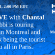 Bobbi is touring around in Montreal and I'm her tourist with you all in Paris