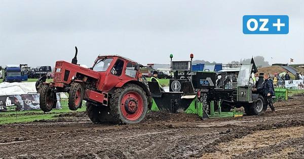 Poel: So war der Start des 1. Traktor Pulling auf der Insel Poel