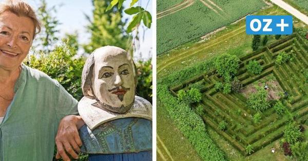 Boltenhagerin hat ihren eigenen Irrgarten: 17 Jahre dauerte das Anpflanzen
