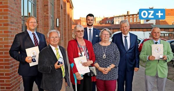 Ehrung für's Ehrenamt: So war der Jahresempfang des neuen Landrates in Wismar