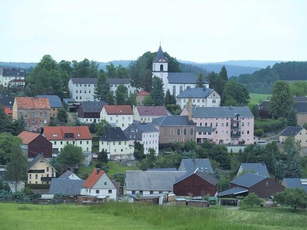 Der erzgebirgische Ort Grünhainichen. Foto: Frank Wehrmeister