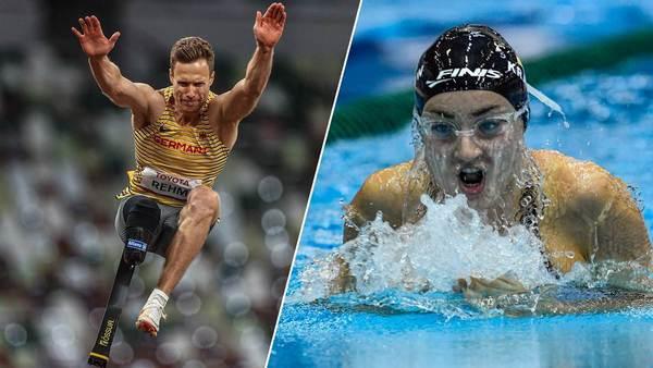 Weitspringer Rehm und Schwimmer glänzen: Super-Mittwoch für deutsche Para-Athleten