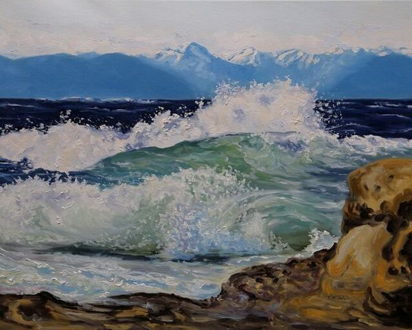 Terrill Welch | Wild Seas (2021) | Available for Sale | Artsy