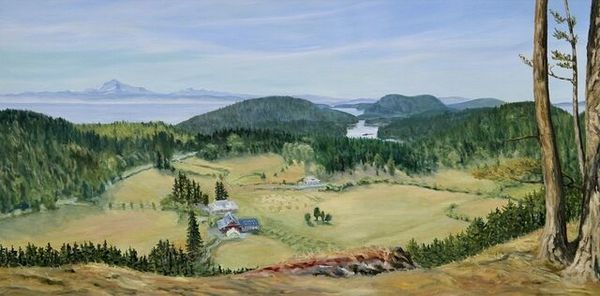Terrill Welch | Glenwood Farm Lookout (2021) | Available for Sale | Artsy
