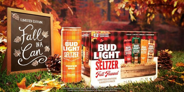 Bud Light Seltzer Launches 'Basic' Fall Seasonal Pack — and Yes, There Will Be Pumpkin Spice!