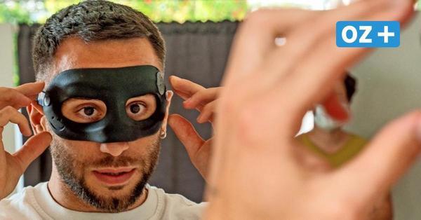 """Hansa Rostocks neuer """"Batman"""": Wie Calogero Rizzuto zu seiner Maske kam"""
