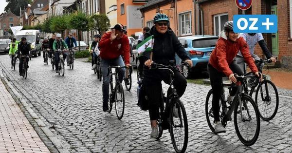 Radtour mit der Olympionikin: Dassow empfängt Lea Sophie Friedrich