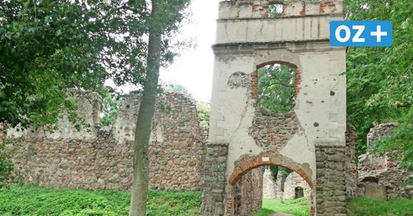 Ruinen und Herrenhäuser an Landgraben und Tollense
