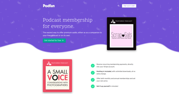 Podcast membership for everyone