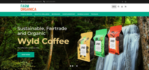 Sustainable, Fairtrade and Organic