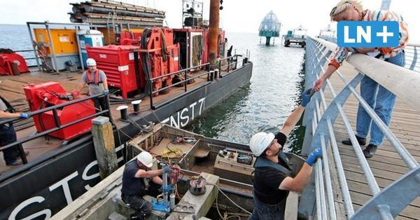 Grömitz: Eine Rutsche über der Ostsee – Seebrücke bekommt Erlebnis-Plattformen