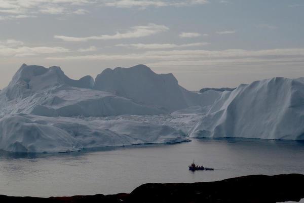 Dérèglement climatique. Il a plu pour la première fois sur le sommet de la calotte glaciaire du Groenland