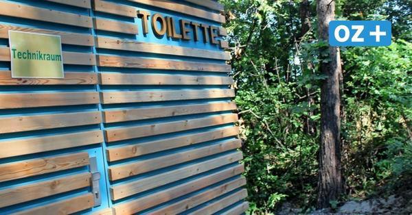 Hier wird nicht gespült: Neue Öko-Toiletten für Strandbesucher auf Rügen