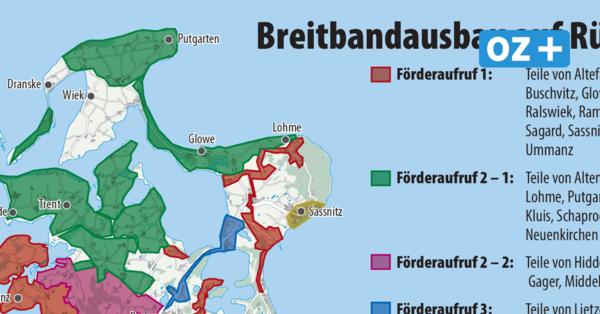 Rügen: Hat das Warten auf schnelles Internet bald ein Ende?