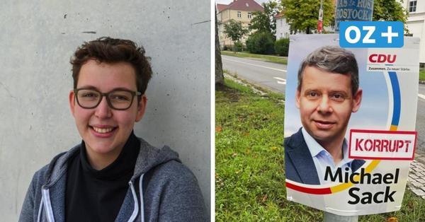 Greifswald: Grüne-Bundestagskandidatin Katharina Horn gesteht Beschädigung von CDU-Plakaten