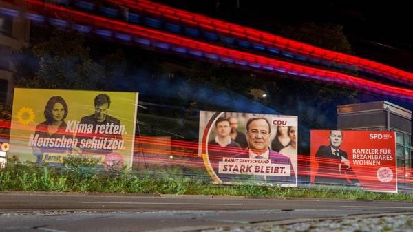 Bundestagswahl 2021: Umfrage sieht absolute Mehrheit für Rot-Rot-Grün