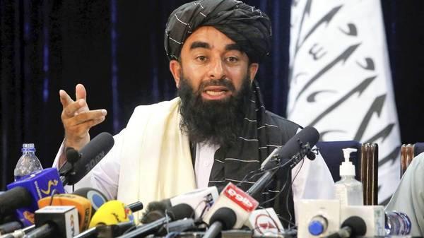 Afghanistan: Taliban-Sprecher - Keine Frauen im Ministeramt, China ist wichtigster Partner
