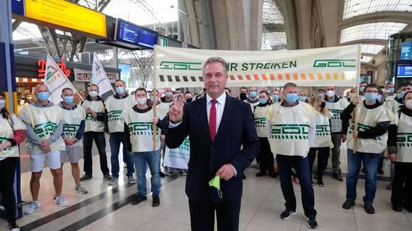 Bahn zieht vor Gericht: Der Streik wird zum Existenzkampf der GDL