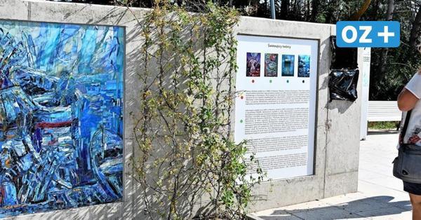 Kunstgenuss beim Flanieren: Mosaike auf Swinemünder Promenade gestaltet