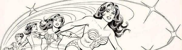 Jose Luis Garcia-Lopez - Wonder Woman Original Comic Art