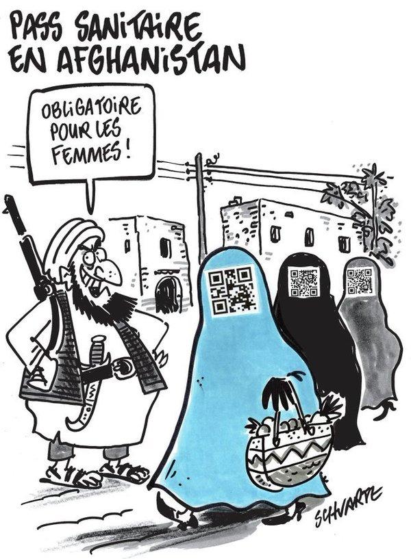 Les Talibans vus par Schvartz.