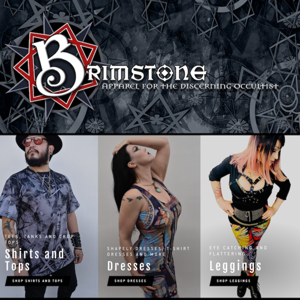 Brimstone Apparel for the Discerning Occultist