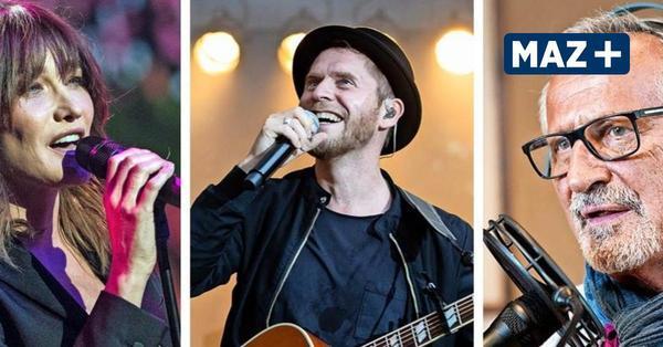 Das sind die Top-Konzerte in Brandenburg und Berlin bis Ende September