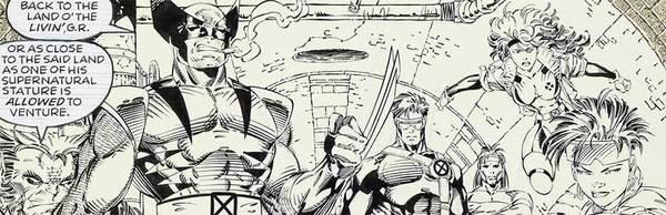 Jim Lee - X-Men Original Comic Art