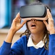 Playing a VR game during medical procedures can reduce pain and anxiety in children