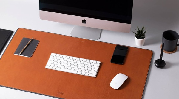 Harber London leather desk mat and mouse pad really class up the joint [Reviews]