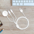Charge 3 of your Apple devices at once with this $15 cable