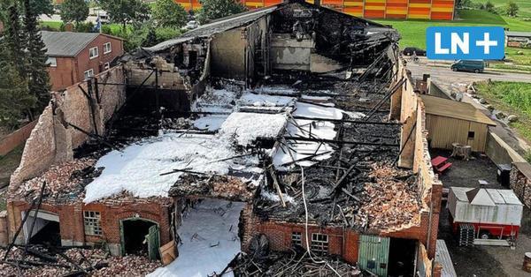 Nach Großbrand im Amalienhof: Kriminalpolizei ermittelt auf Fehmarn
