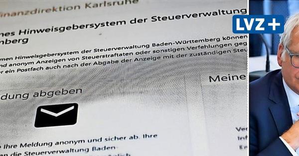 """""""Pranger"""" für Steuersünder? Sachsens Finanzminister lehnt Online-Meldeportal strikt ab"""