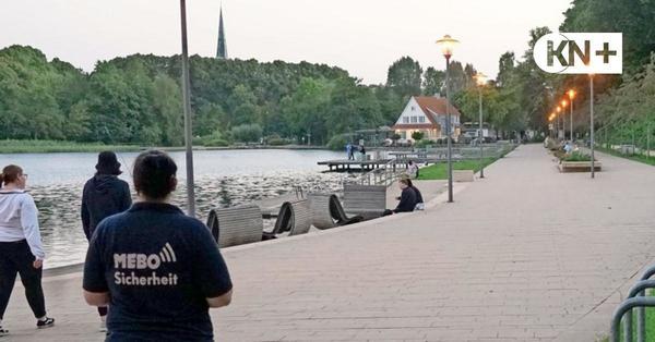 Neue Stadt-Patrouille in Bad Segeberg löste Feiern von jungen Leuten auf