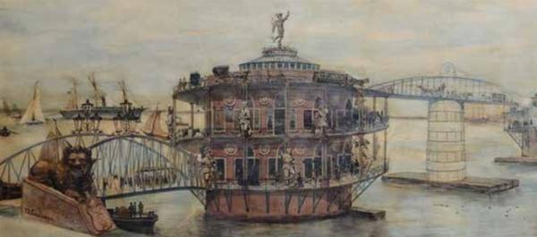 Een spectaculaire IJ-brug uit 1887 - Stadsarchief Amsterdam