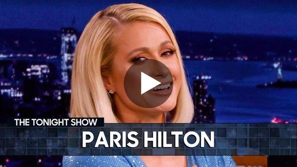 Paris Hilton Schools Jimmy on NFTs | The Tonight Show