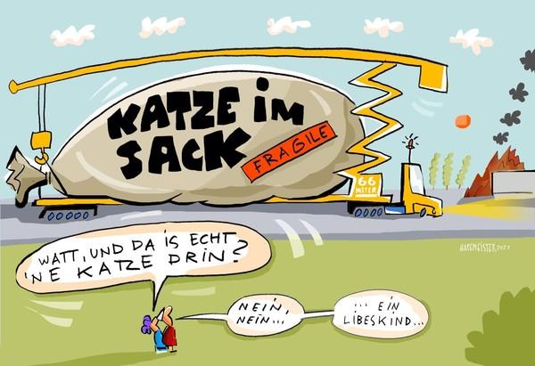 Karikatur: Jörg Hafemeister