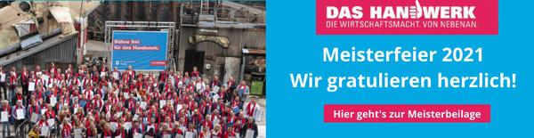 Meister des Handwerks 2021, Handwerkskammer Potsdam