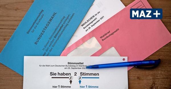 Rekord bei Briefwahl in Brandenburg - schon 325.000 Anträge