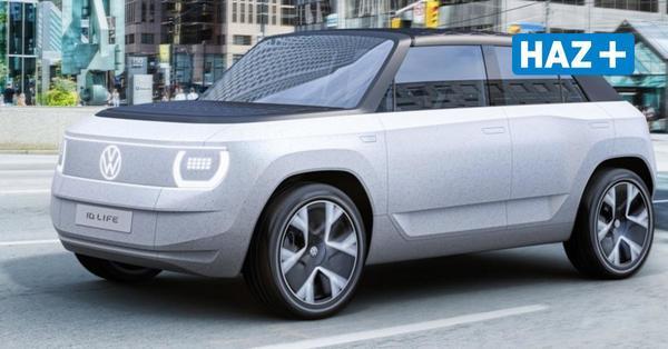 ID.Life: Volkswagen präsentiert neues E-Auto auf der IAA