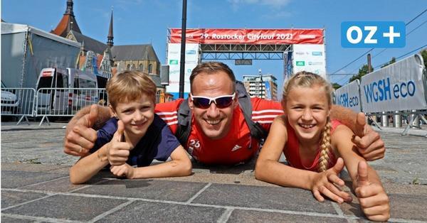 Rostocker Citylauf: Das sind die schönsten Bilder von der Strecke durch die Innenstadt