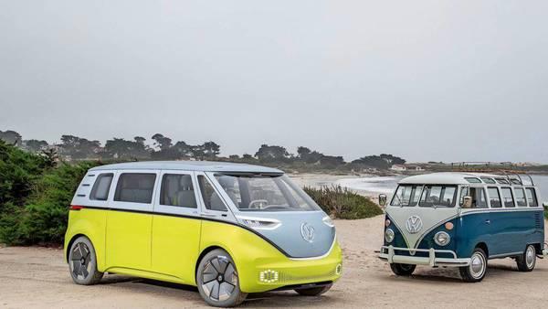 "VW zeigt autonom fahrenden ""Bulli""-Prototypen"