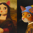 VR Exhibit Answers Question: What If Mona Lisa Was A Cat?