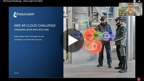 AWE's AR Cloud Challenge Workshop with Holo-Light