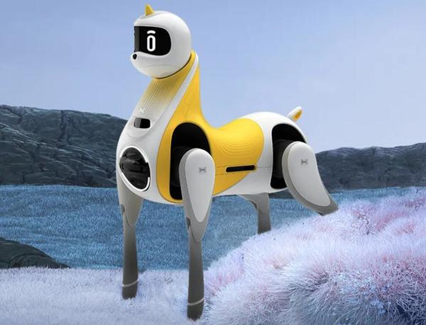 XPeng unveils smart robot pony - CnEVPost