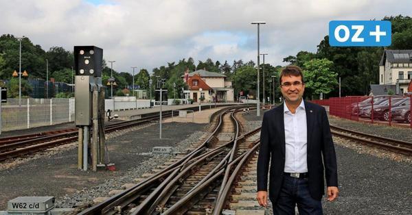 Arbeiten am Molli-Gleis zwischen Bad Doberan und Kühlungsborn: Vollsperrung im November