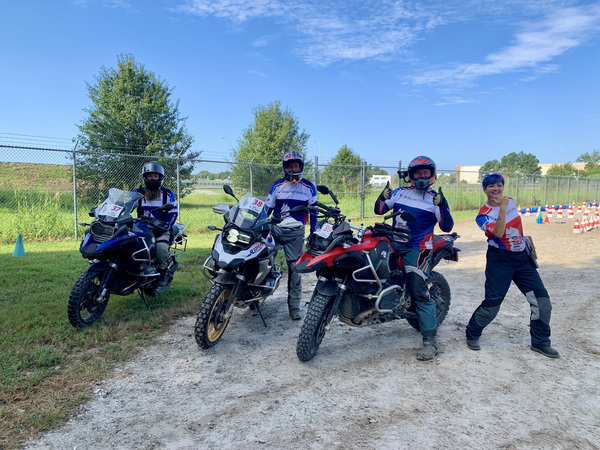 My GS Trophy Qualifier Team, Albert, Alex, Adam and our fearless leader, Kerry from BMW Motorrad NA