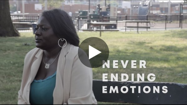 """Now you can watch """"Never Ending Emotions"""" online in its entirety. This documentary features a series of interviews addressing the emotional rollercoaster of life-changing events following the murder of a family member and discussing possible solutions to gun violence in Philadelphia."""