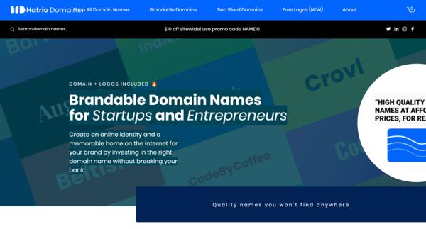 Brandable Domain Names for Startups and Entrepreneurs